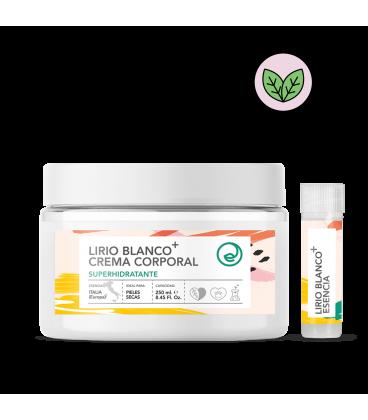 Crema corporal superhidratante de lirio blanco
