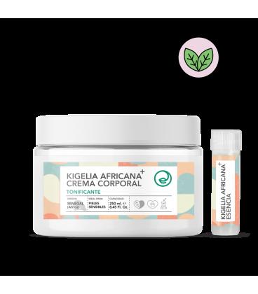 Crema corporal tonificante de kigelia