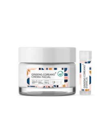 Crema facial antiaging ginseng
